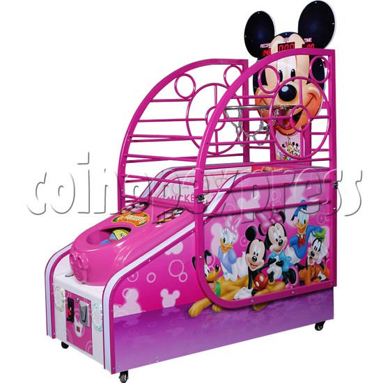 Cute Mouse Foldaway Basketball Machine for kids 32761