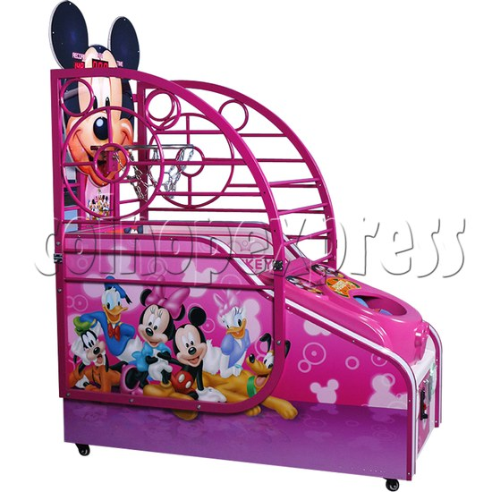 Cute Mouse Foldaway Basketball Machine for kids 32764