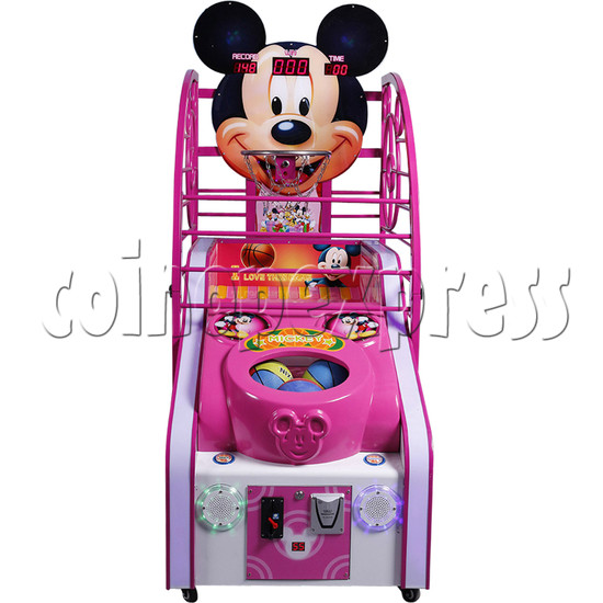 Cute Mouse Foldaway Basketball Machine for kids 32765