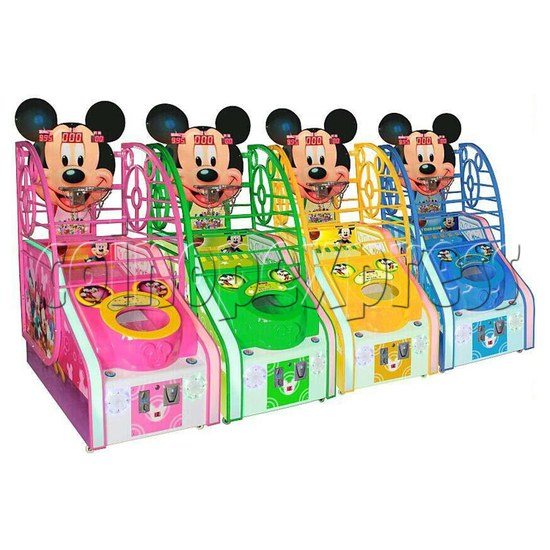 Cute Mouse Foldaway Basketball Machine for kids 32766