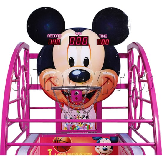Cute Mouse Foldaway Basketball Machine for kids 32767
