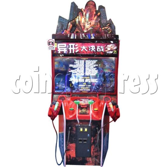 Aliens Armageddon Deluxe Shooting Arcade  Machine  32794