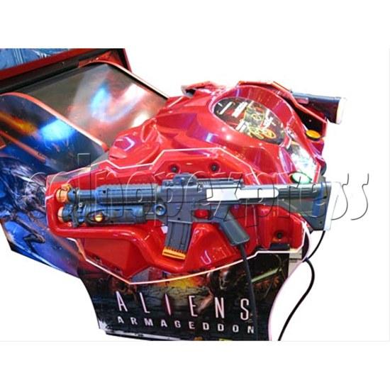 Aliens Armageddon Deluxe Shooting Arcade  Machine  32796