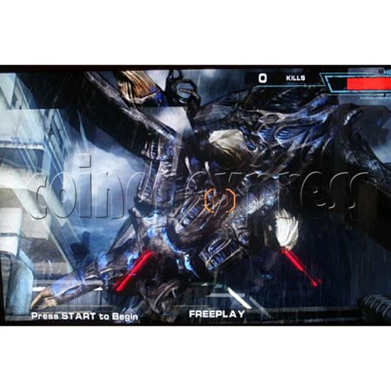 Aliens Armageddon Deluxe Shooting Arcade  Machine  32798