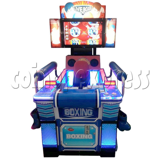 """Punch Machine: 32"""" LCD live boxing 32851"""