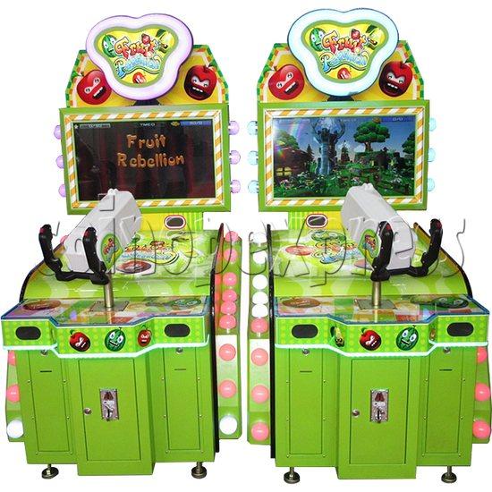 Fruit Rebellion Video Shooting Game 33035