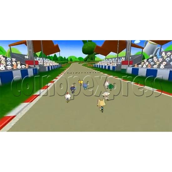 Kick Through Racers Sport Game 33041