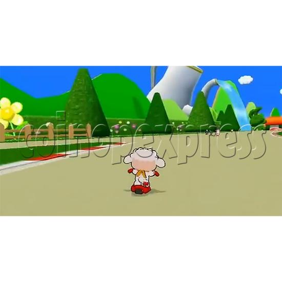 Kick Through Racers Sport Game 33046