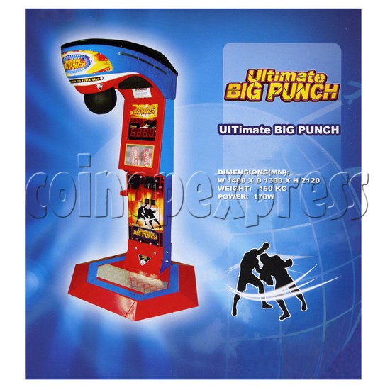 Ultimate Big Punch Ticket Redemption Machine 33061