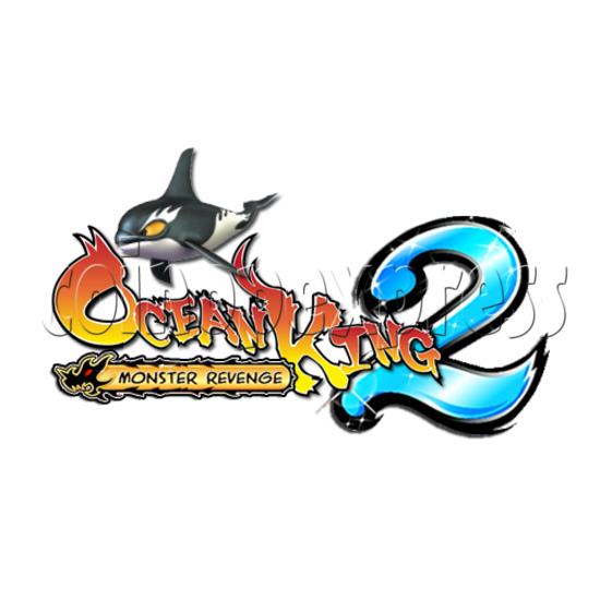 Ocean King 2 Fish Hunter Machine - Monster's Revenge PCB Kit - game logo