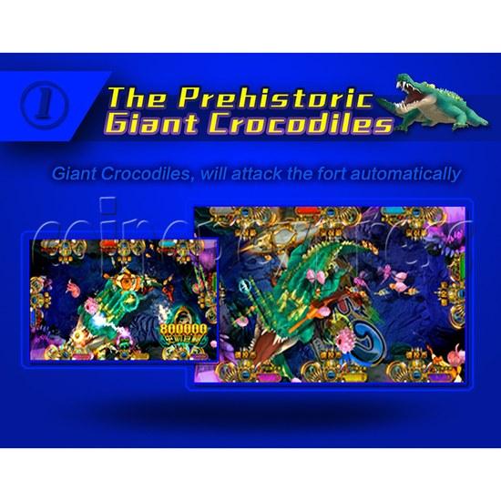 Ocean King 2 Fish Hunter Machine - Monster's Revenge PCB Kit - The prehistoric giant crocodiles
