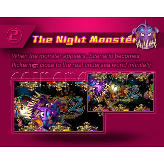 Ocean King 2 Fish Hunter Machine - Monster's Revenge PCB Kit - The night monster
