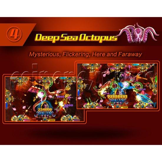 Ocean King 2 Fish Hunter Machine - Monster's Revenge PCB Kit - Deep Sea Octopus