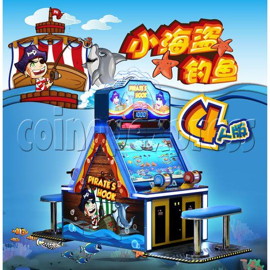 Pirate's Hook Video Fish machine (4 players) 33176