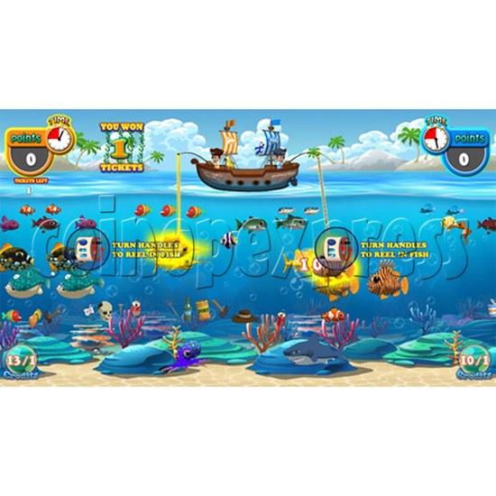 Pirate's Hook Video Fish machine (4 players) 33180