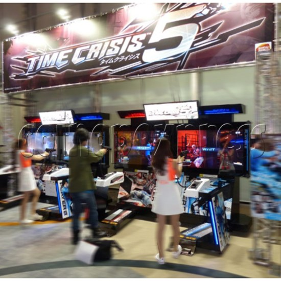 Time Crisis 5 twin machine (Asia version) 33361