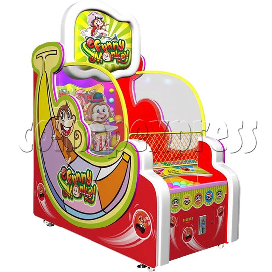 Funny Monkey Ball Shooter game machines 33643