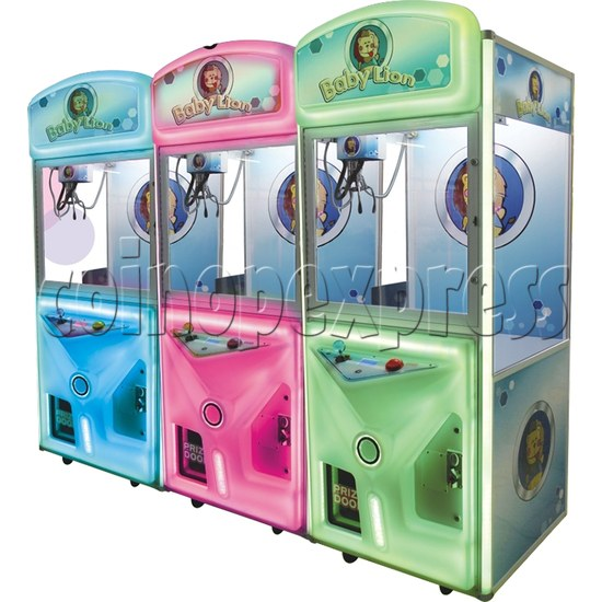 Baby Lion Color Changing Crane machine 33652