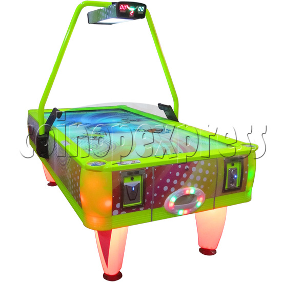 Top World Coin Operated Air Hockey ( 4 players) 33659