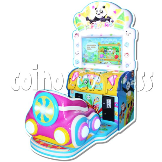 Air Flying Driving Game machine for Kids 33695