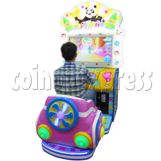 Air Flying Driving Game machine for Kids 33698