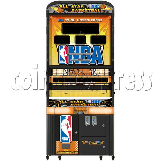 NBA Stars Card Redemption Basketball machine 33729
