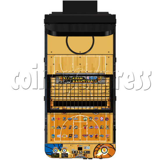 NBA Stars Card Redemption Basketball machine 33730