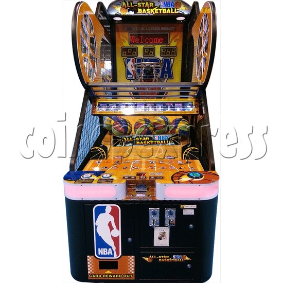 NBA Stars Card Redemption Basketball machine 33733