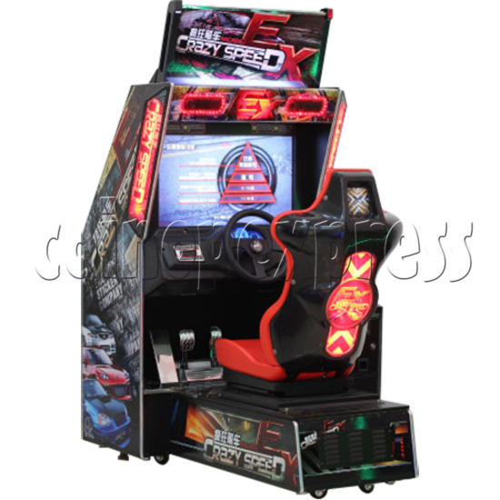 Crazy Speed EX Arcade Machine  33738