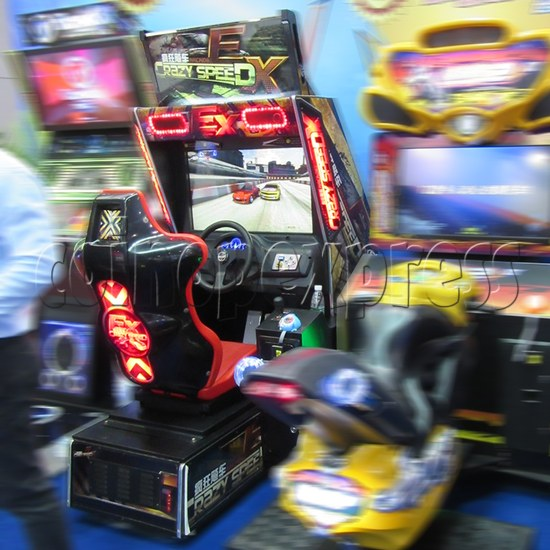 Crazy Speed EX Arcade Machine  33743