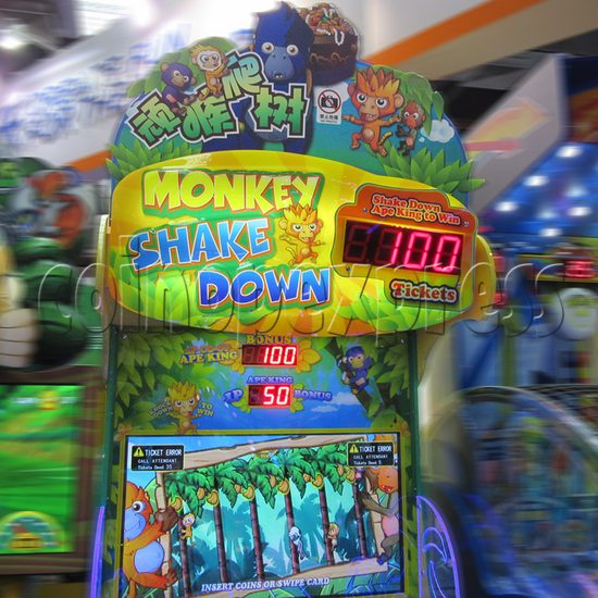 Monkey Shakedown Ticket Redemption Machine 33779