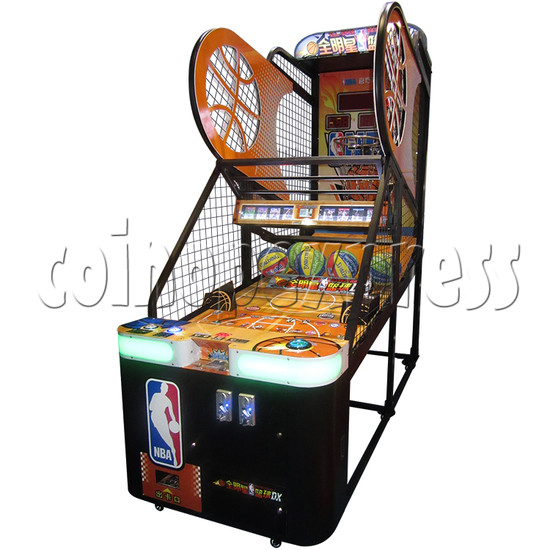 NBA Stars DX Card Redemption Basketball machine 33836