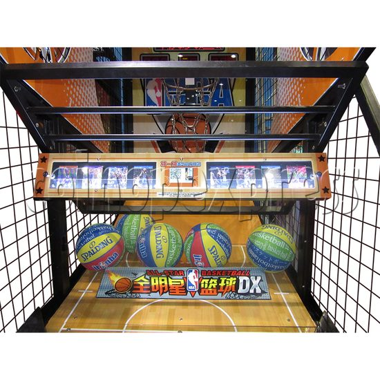 NBA Stars DX Card Redemption Basketball machine 33840