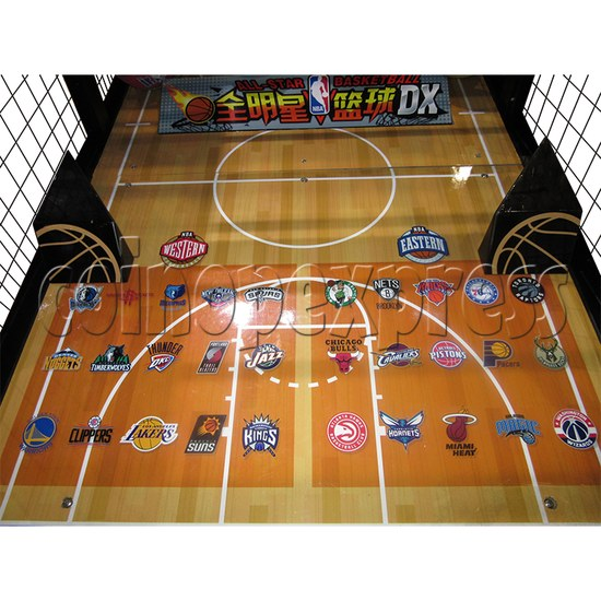 NBA Stars DX Card Redemption Basketball machine 33841