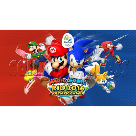 Sega Mario & Sonic Rio 2016 Olympics Arcade Edition Game 33858