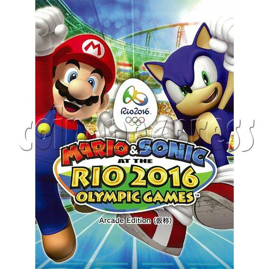 Sega Mario & Sonic Rio 2016 Olympics Arcade Edition Game 33863