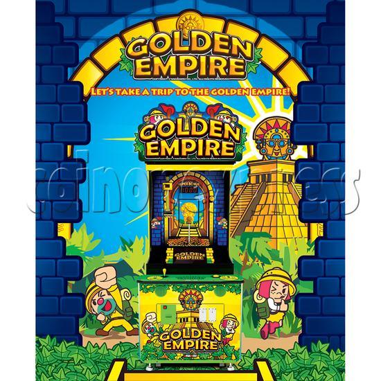 Golden Empire Coin Pusher Ticket Redemption Arcade Machine - catalogue
