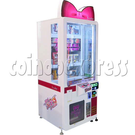S Cube Skill Test prize machine 33955