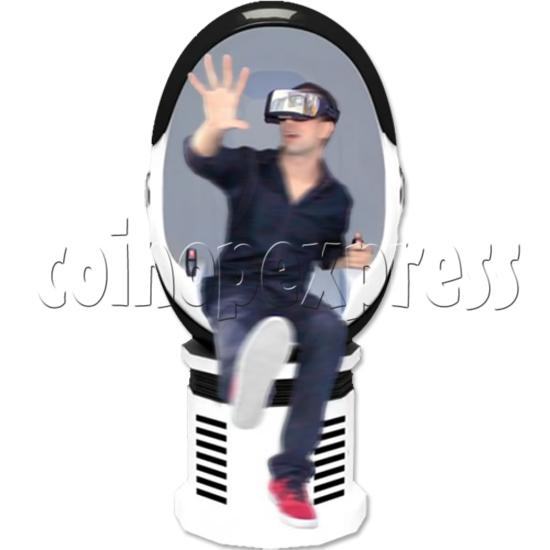 9D Virtual Cinema Virtual Reality Gaming Simulator (Single player)  34007