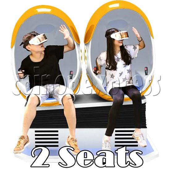 9D Virtual Cinema Virtual Reality Gaming Simulator (Two players)  34030