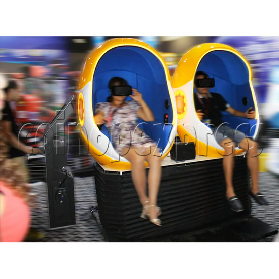 9D Virtual Cinema Virtual Reality Gaming Simulator (Two players)  34031