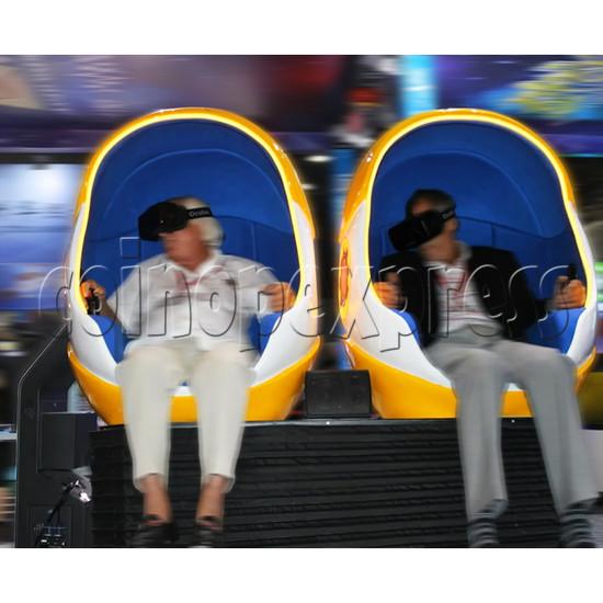 9D Virtual Cinema Virtual Reality Gaming Simulator (Two players)  34032