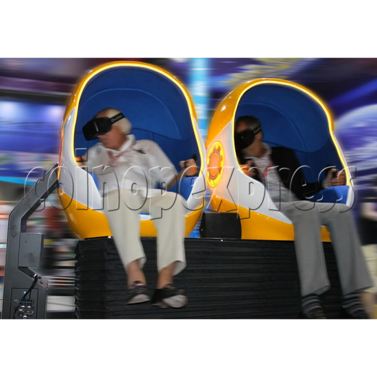 9D Virtual Cinema Virtual Reality Gaming Simulator (Two players)  34033