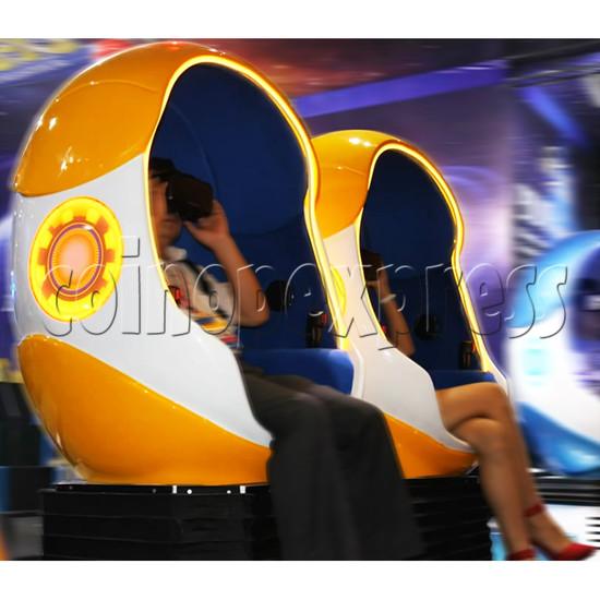 9D Virtual Cinema Virtual Reality Gaming Simulator (Two players)  34034