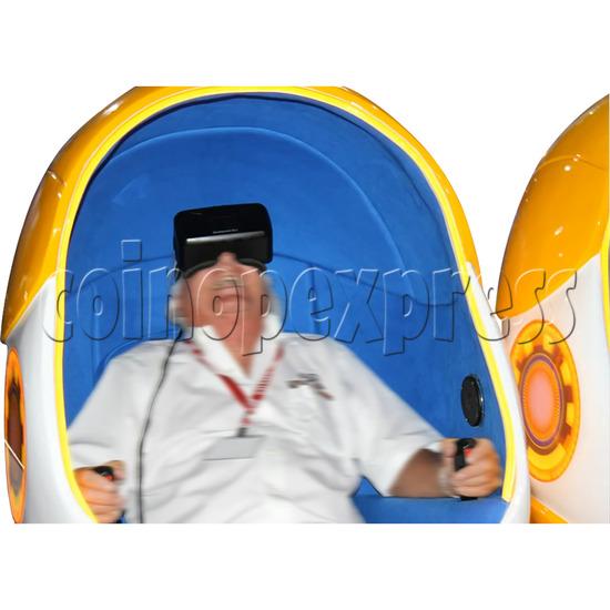 9D Virtual Cinema Virtual Reality Gaming Simulator (Two players)  34035