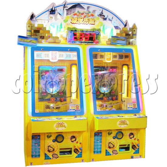 Adventure Castle Coin Pusher Ticket machine (2 players) 34041