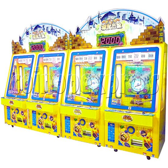 Adventure Castle Coin Pusher Ticket machine (2 players) 34045
