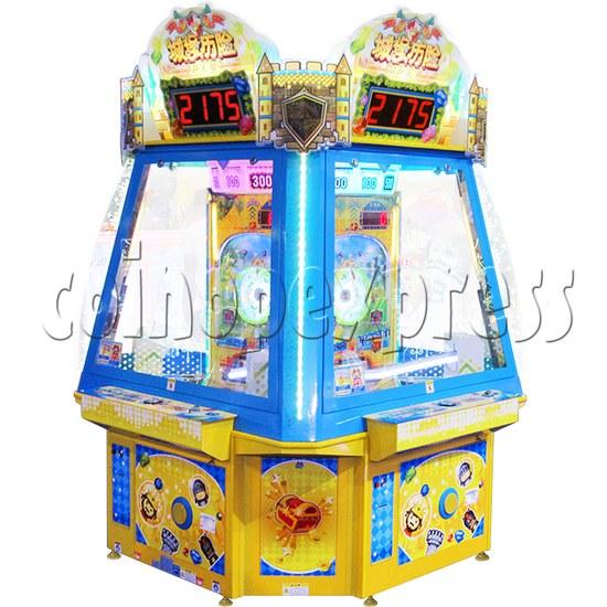 Adventure Castle Ticket Redemption Arcade Game Machine 4 Players 34058