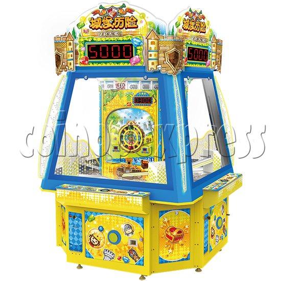 Adventure Castle Ticket Redemption Arcade Game Machine 4 Players 34060
