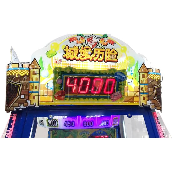 Adventure Castle Ticket Redemption Arcade Game Machine 4 Players 34071